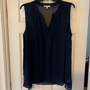 Plus size sheer blouse